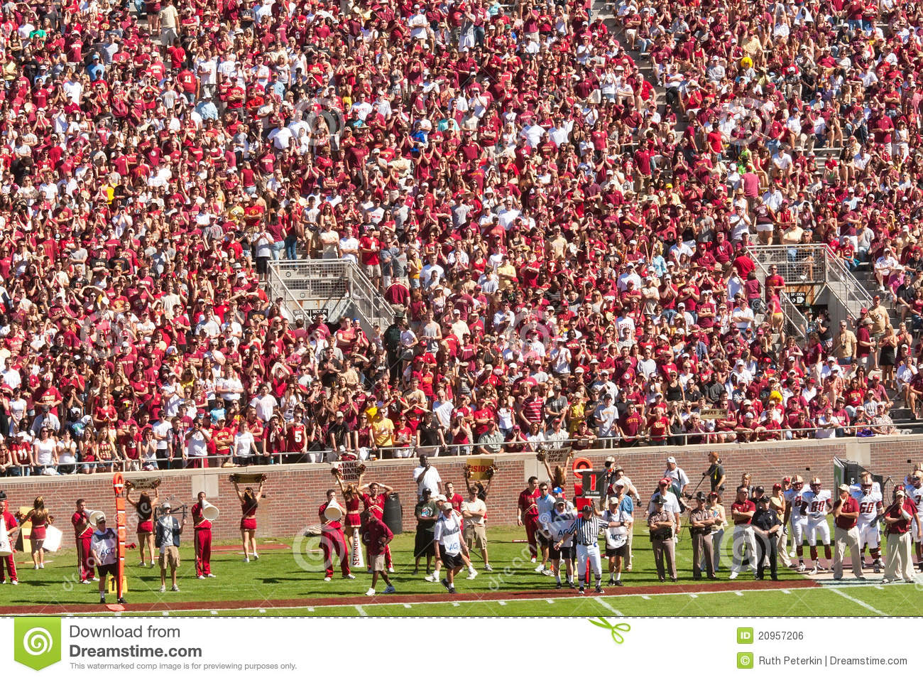Stadium, home venue for Florida State University Seminole Football ... Fsu Football Stadium
