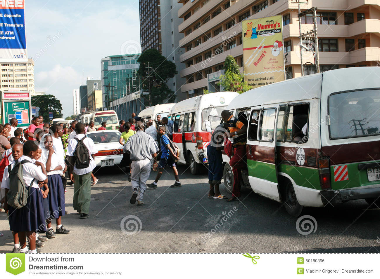 crowd of people at a bus stop during rush hour editorial photo image 50180866. Black Bedroom Furniture Sets. Home Design Ideas