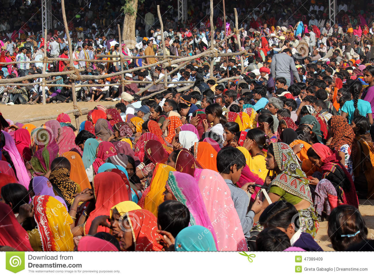 crowd of people at pushkar fair editorial stock image image 47389409. Black Bedroom Furniture Sets. Home Design Ideas