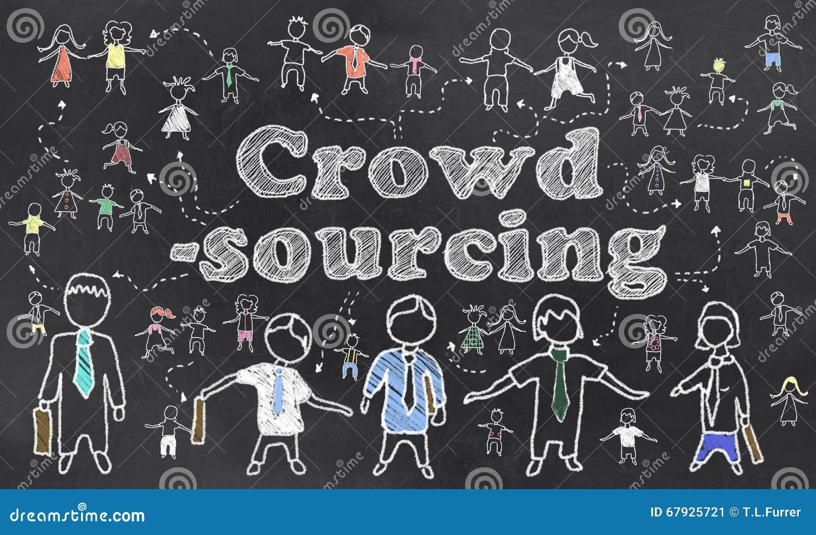 Crowdsourcing在黑板说明了