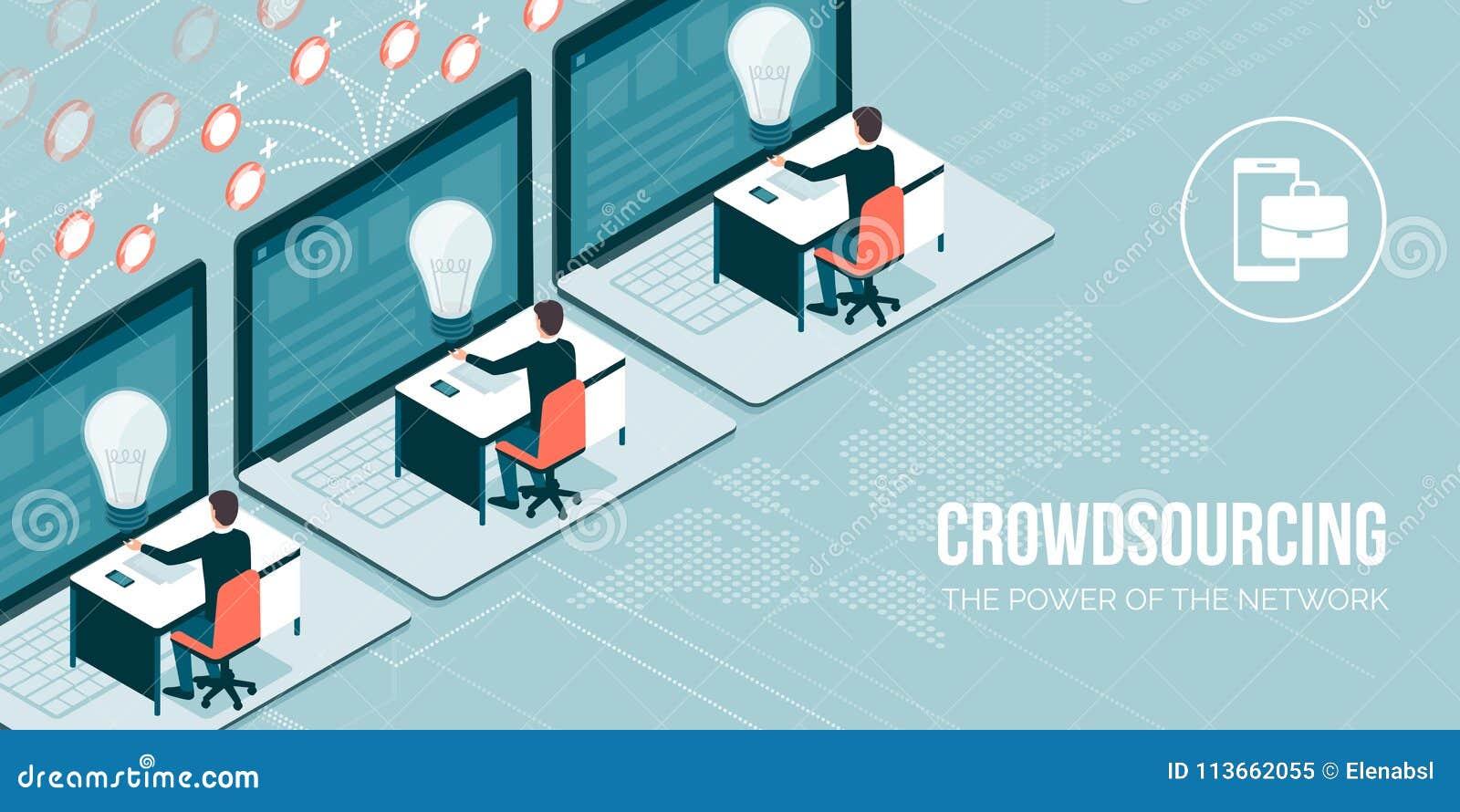 Crowdsourcing en telework