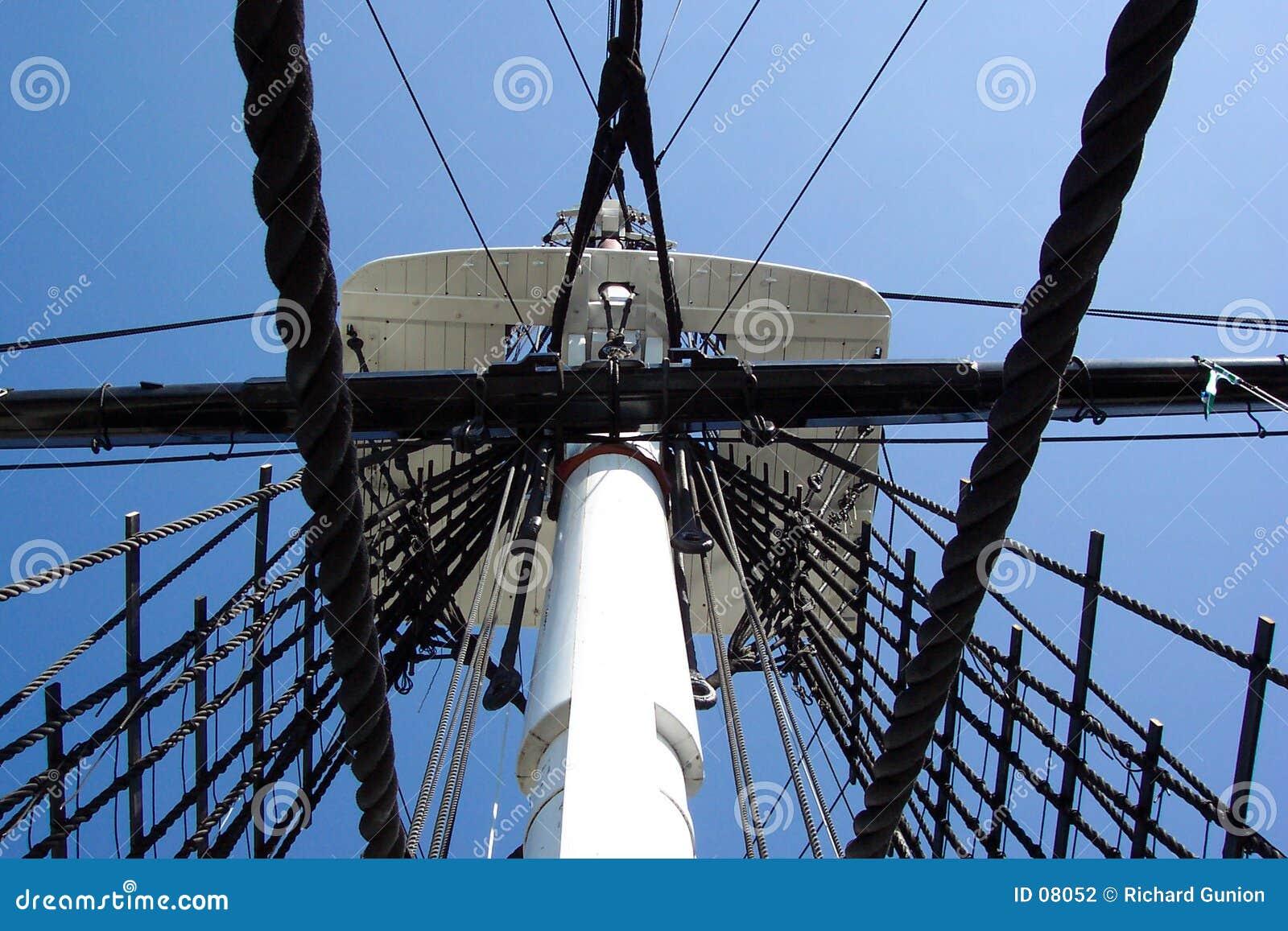 Crowes Nest-U.S.S. Konstitution-Kriegsschiff
