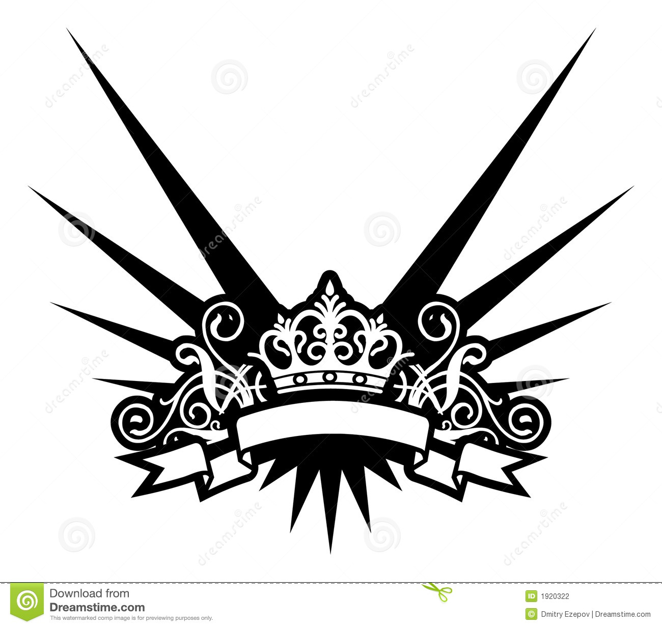 Imperial Crown Tattoos