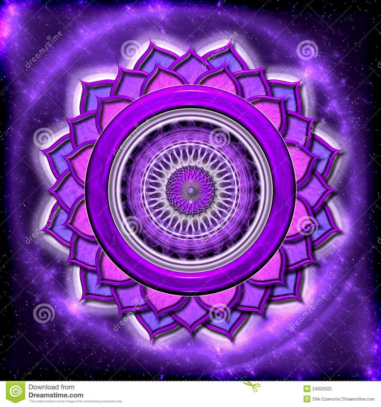 The crown chakra stock illustration illustration of mantra 24022522 the crown chakra buycottarizona Image collections