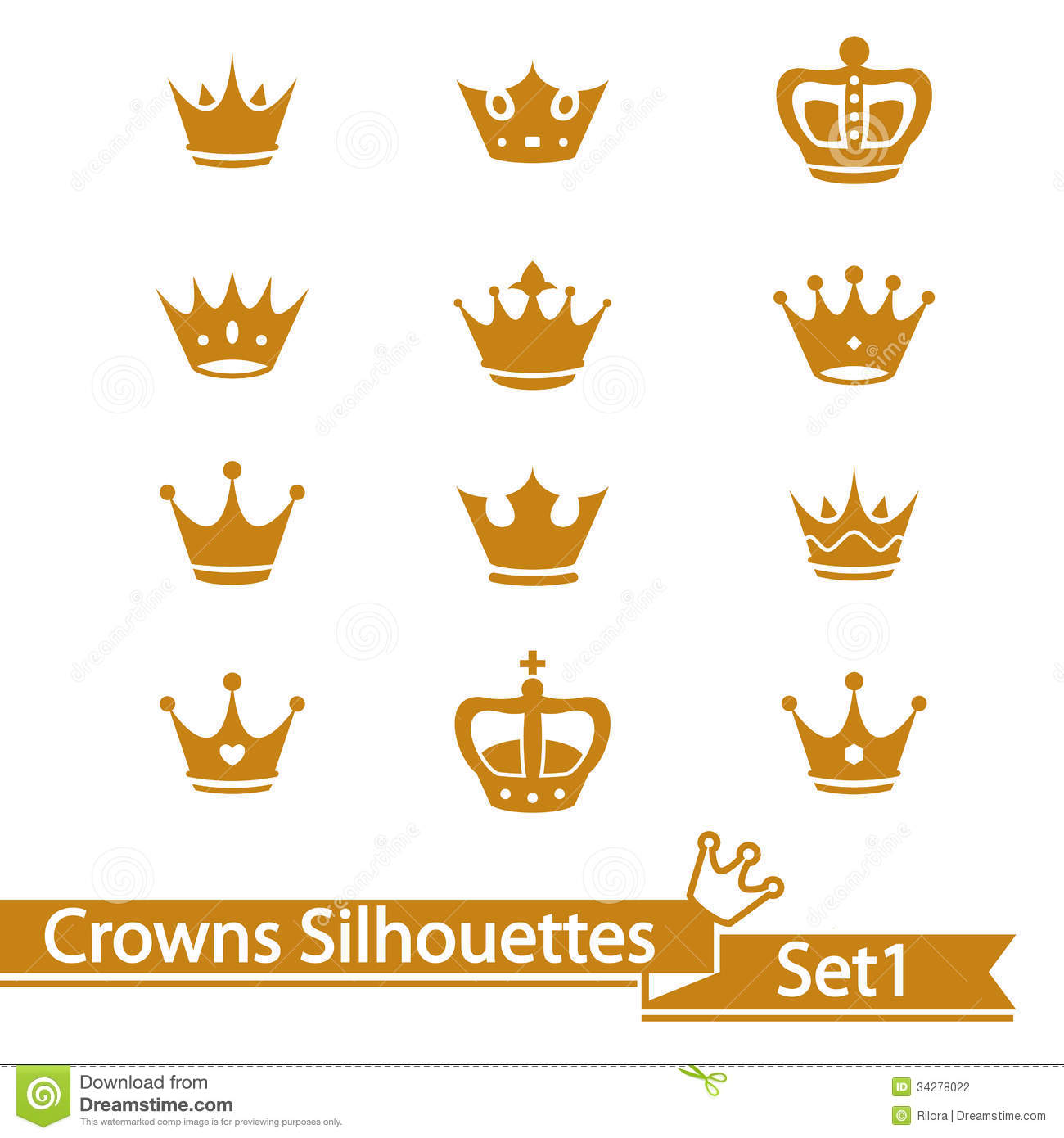 Royal crown outline for a prince  Free shapes icons