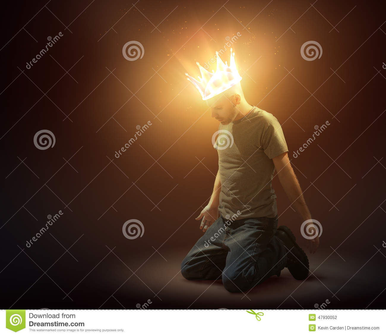 Download Crown Of Light Stock Photo. Image Of Glow, Victory, Royalty    47930052