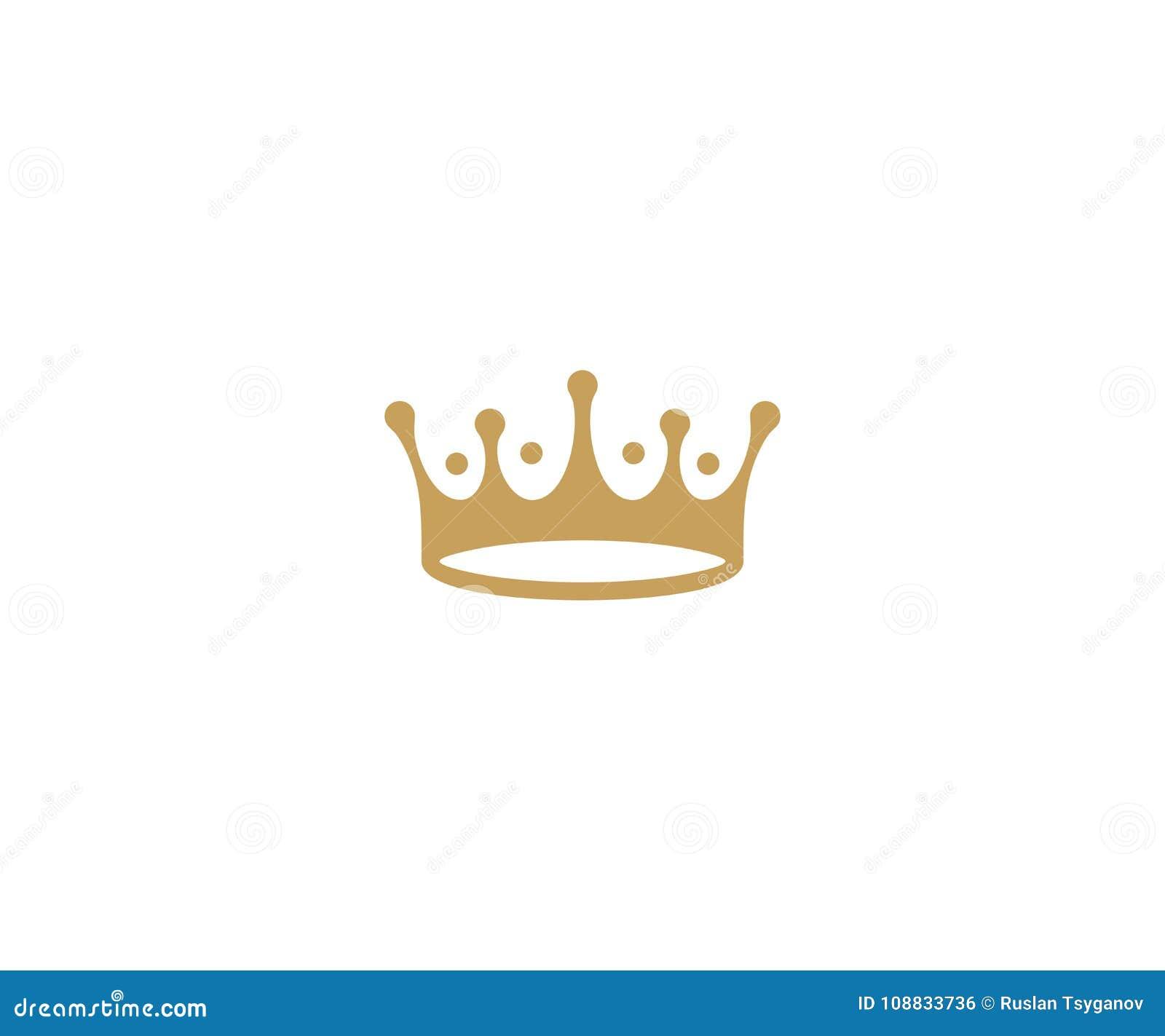 Crown logo template king hat vector design stock vector download comp maxwellsz