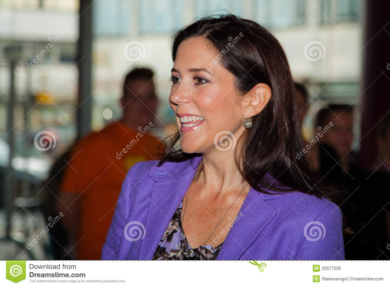 Crown Princess Mary Of Denmark Editorial Image - Image: 20577335