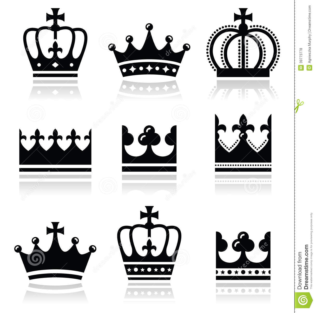 Black King And Queen Clipart 49 King And Queen Crown Clipart Black