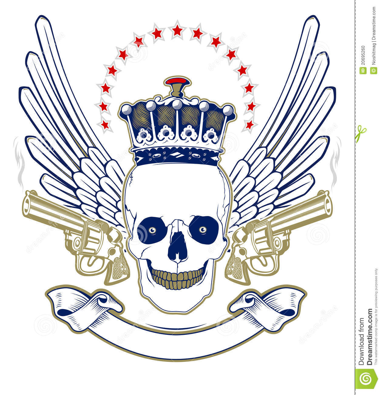 https://thumbs.dreamstime.com/z/crown-skull-emblem-20695260.jpg