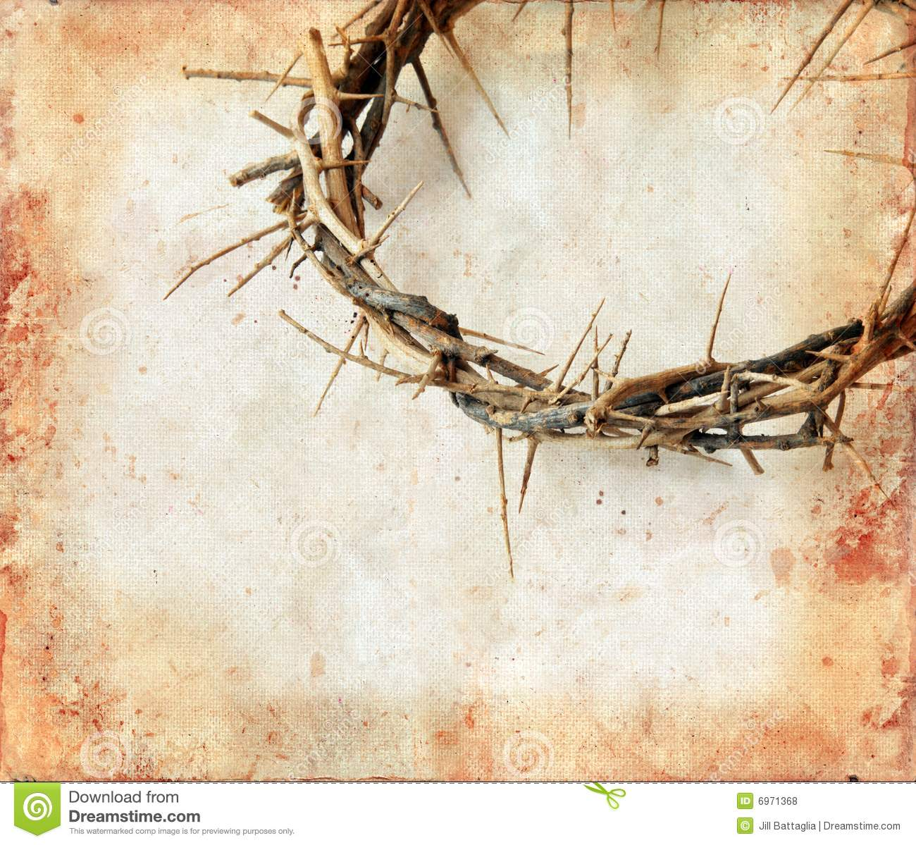 Crown of thorns on grunge background stock photo image for Fondo de pantalla jesucristo