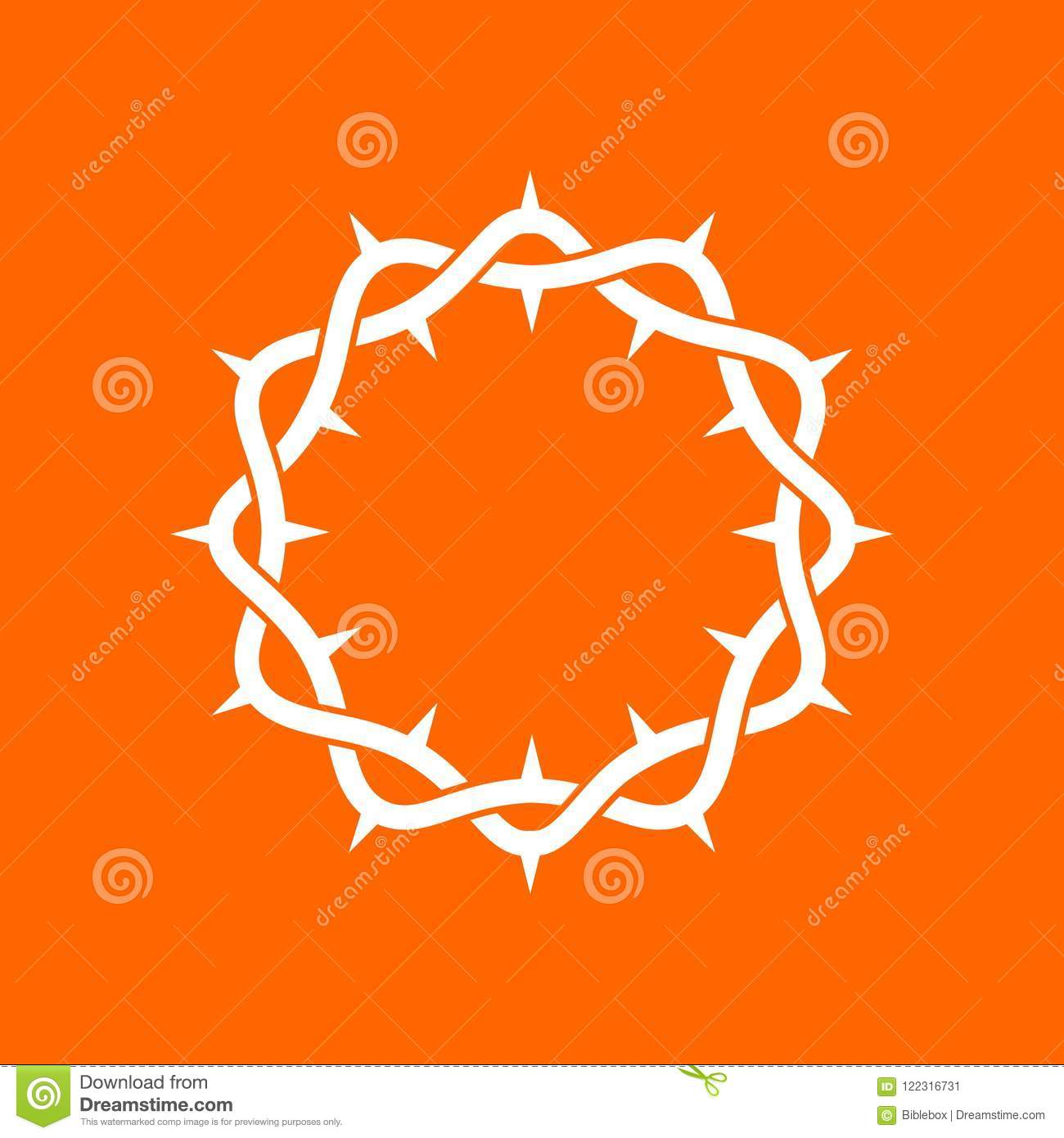 The Crown Of Thorns Of The Lord And Savior Jesus Christ The Symbol