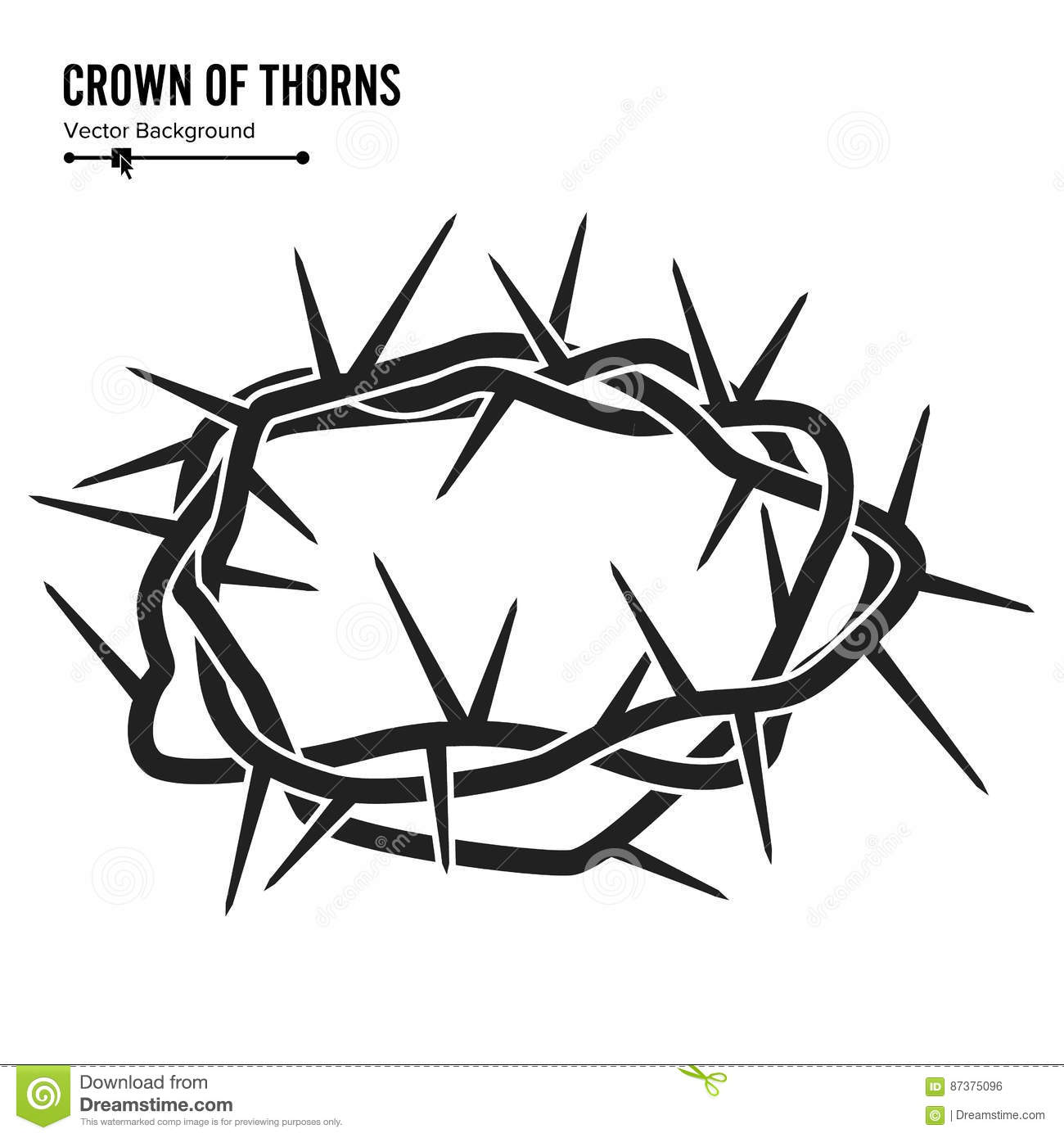 of thorns illustration - photo #7