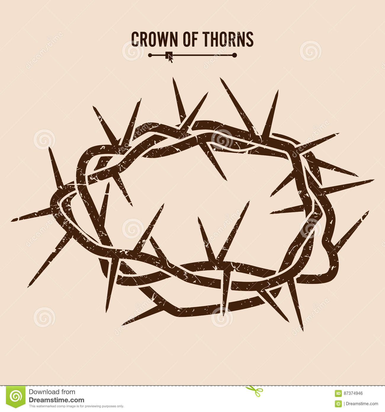 of thorns illustration - photo #3