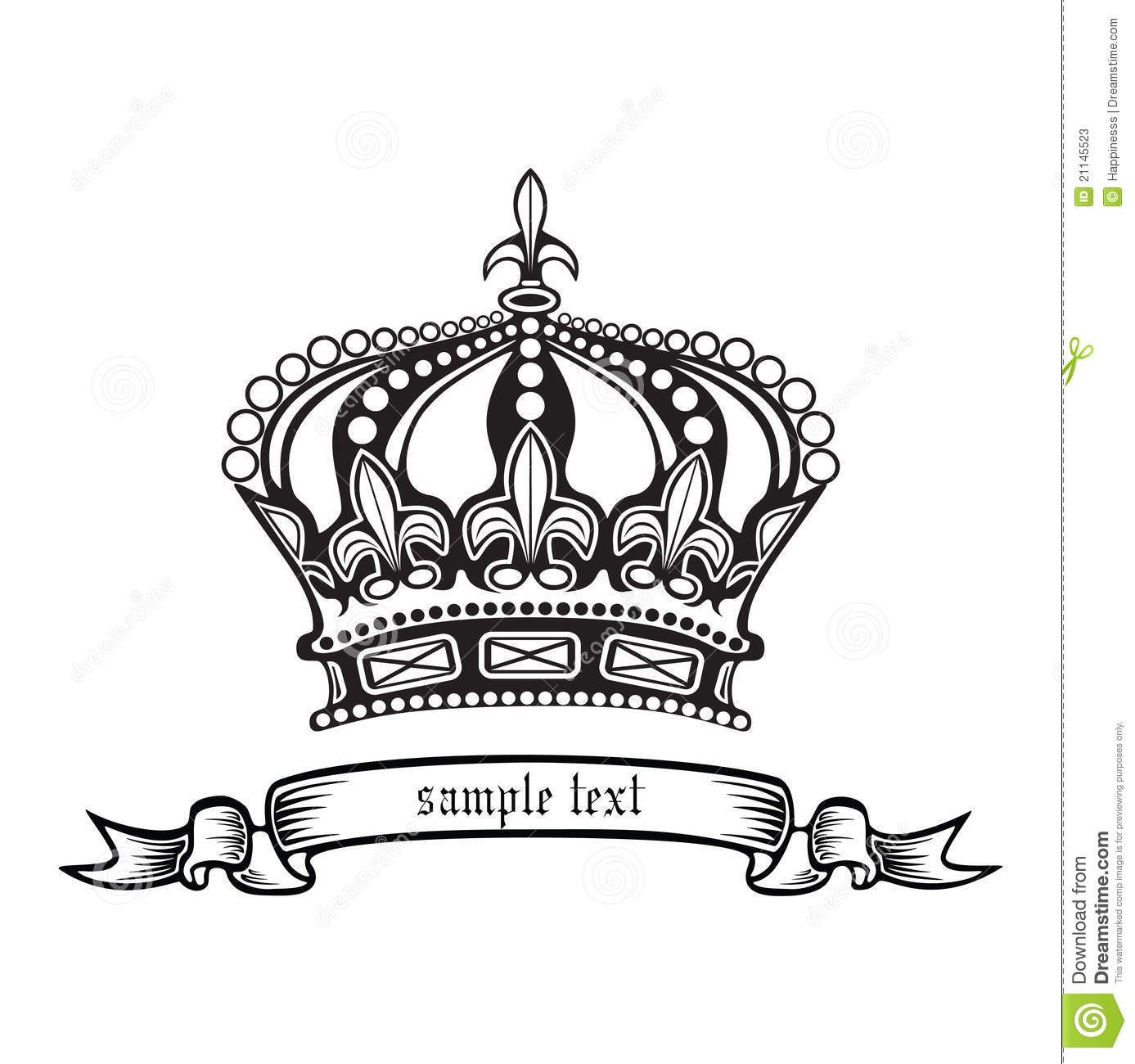 Crown Vector Illustration Eps 10 Stock Photos Image