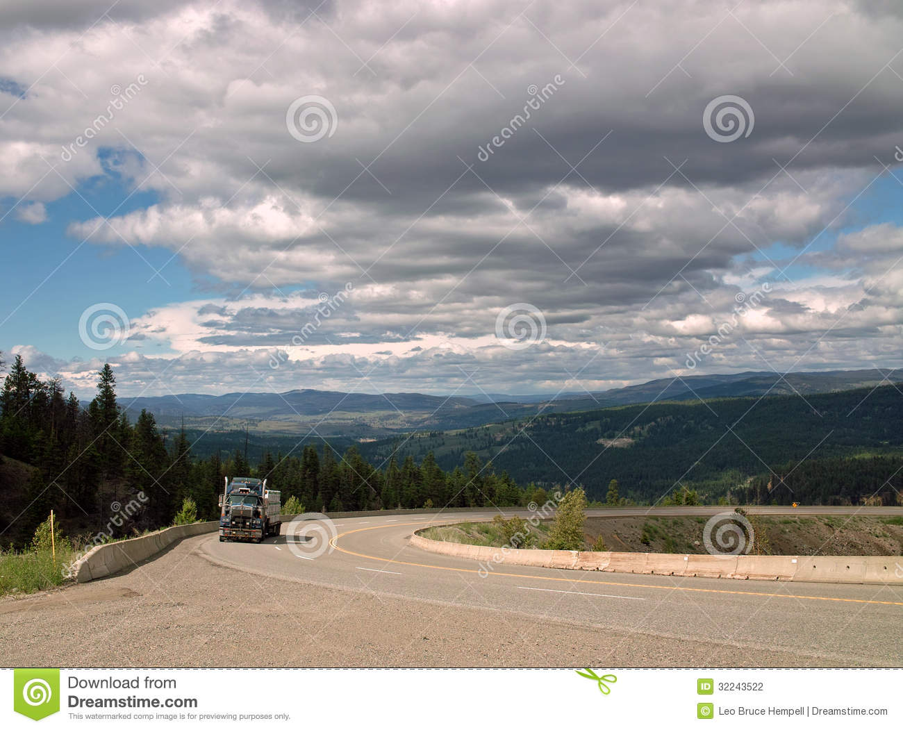 Crowsnest Highway, BC #3, B.C. Canada Stock Photography ...