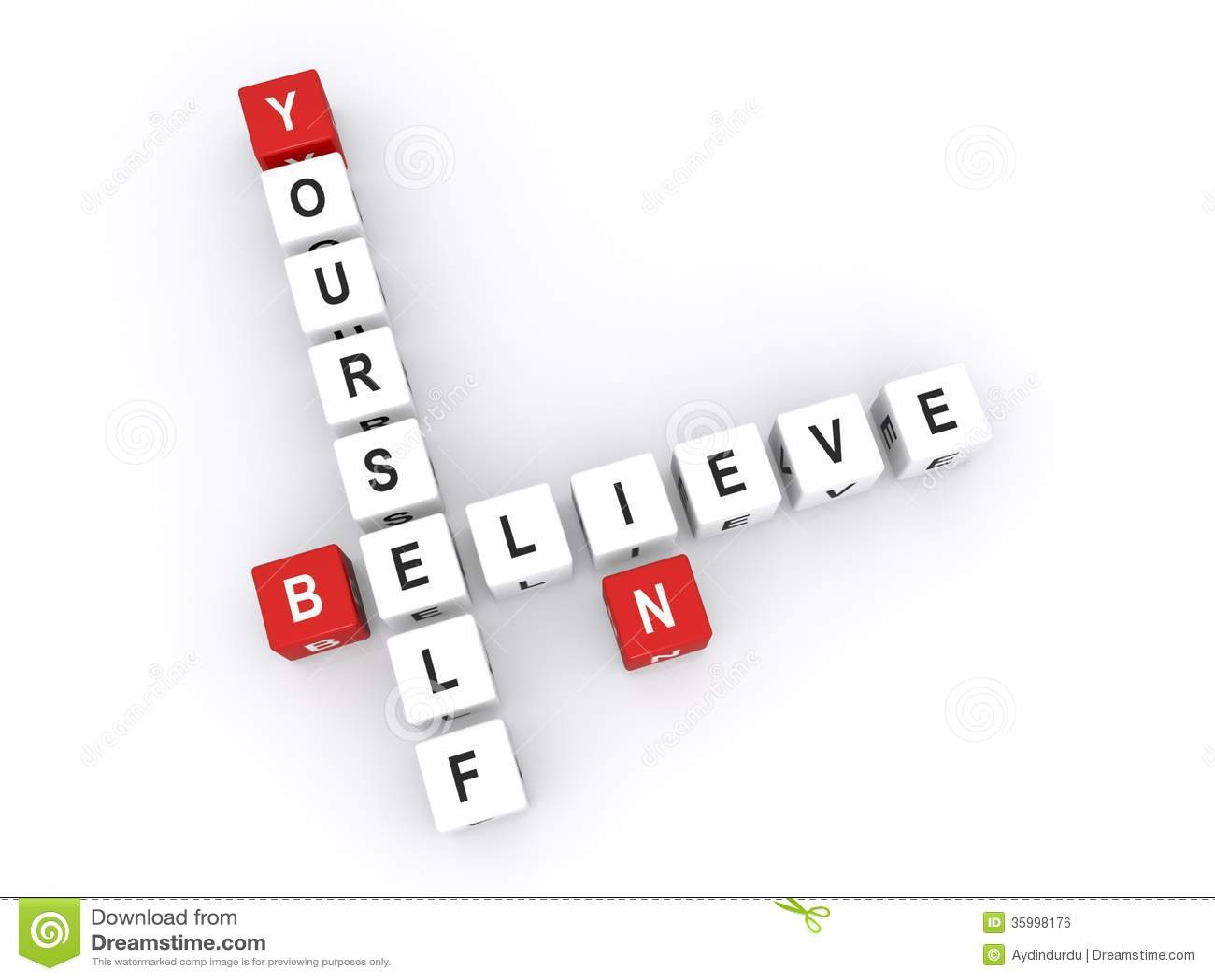 Croyez en vous-même le signe
