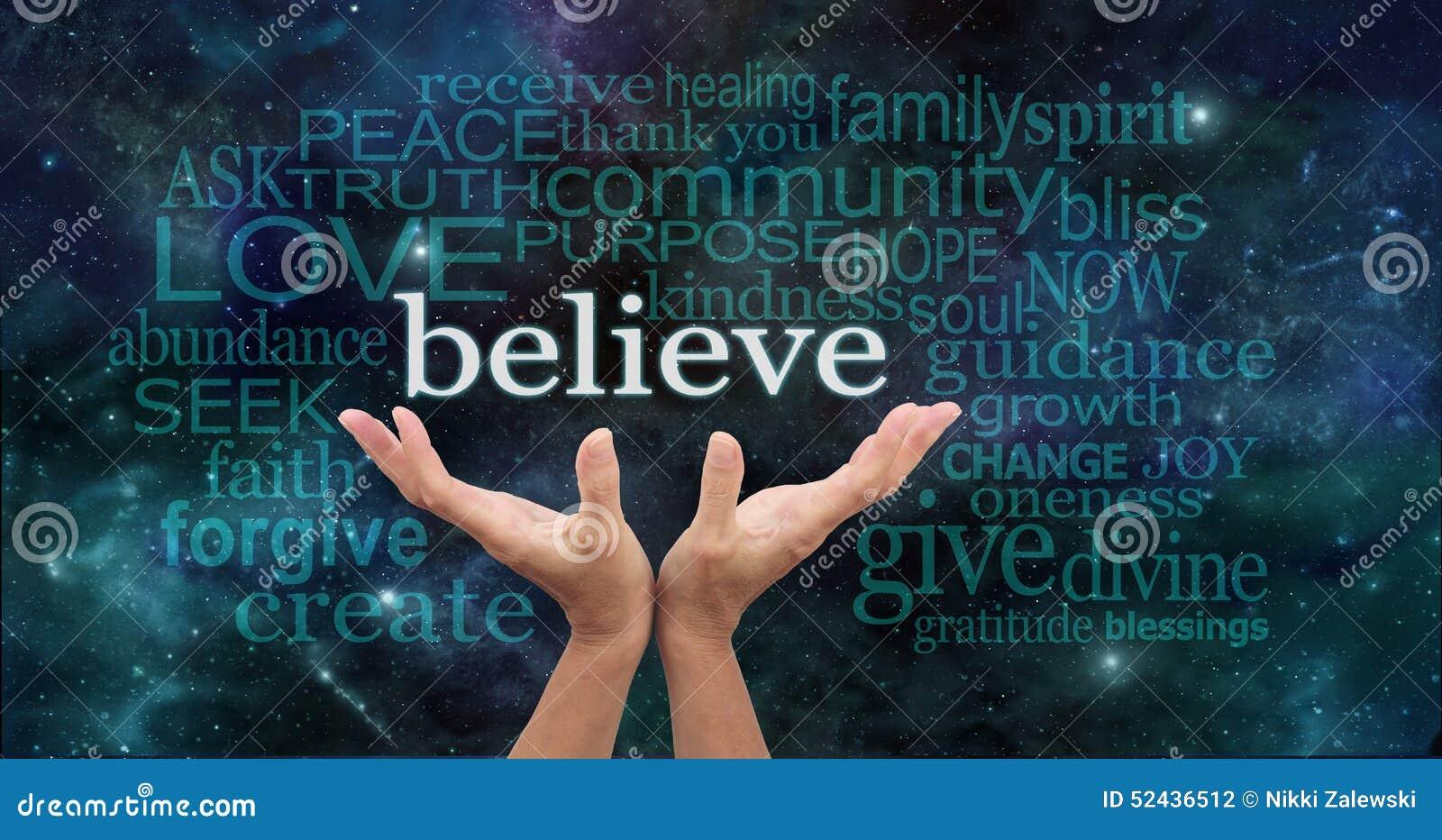Croyez vraiment