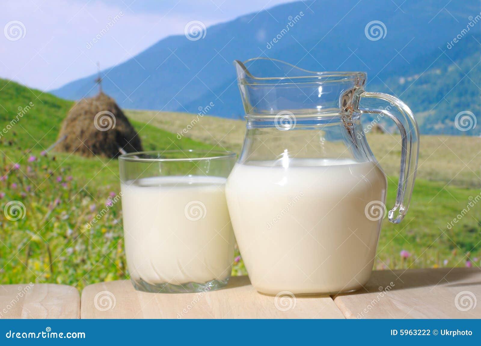 Cruche de lait