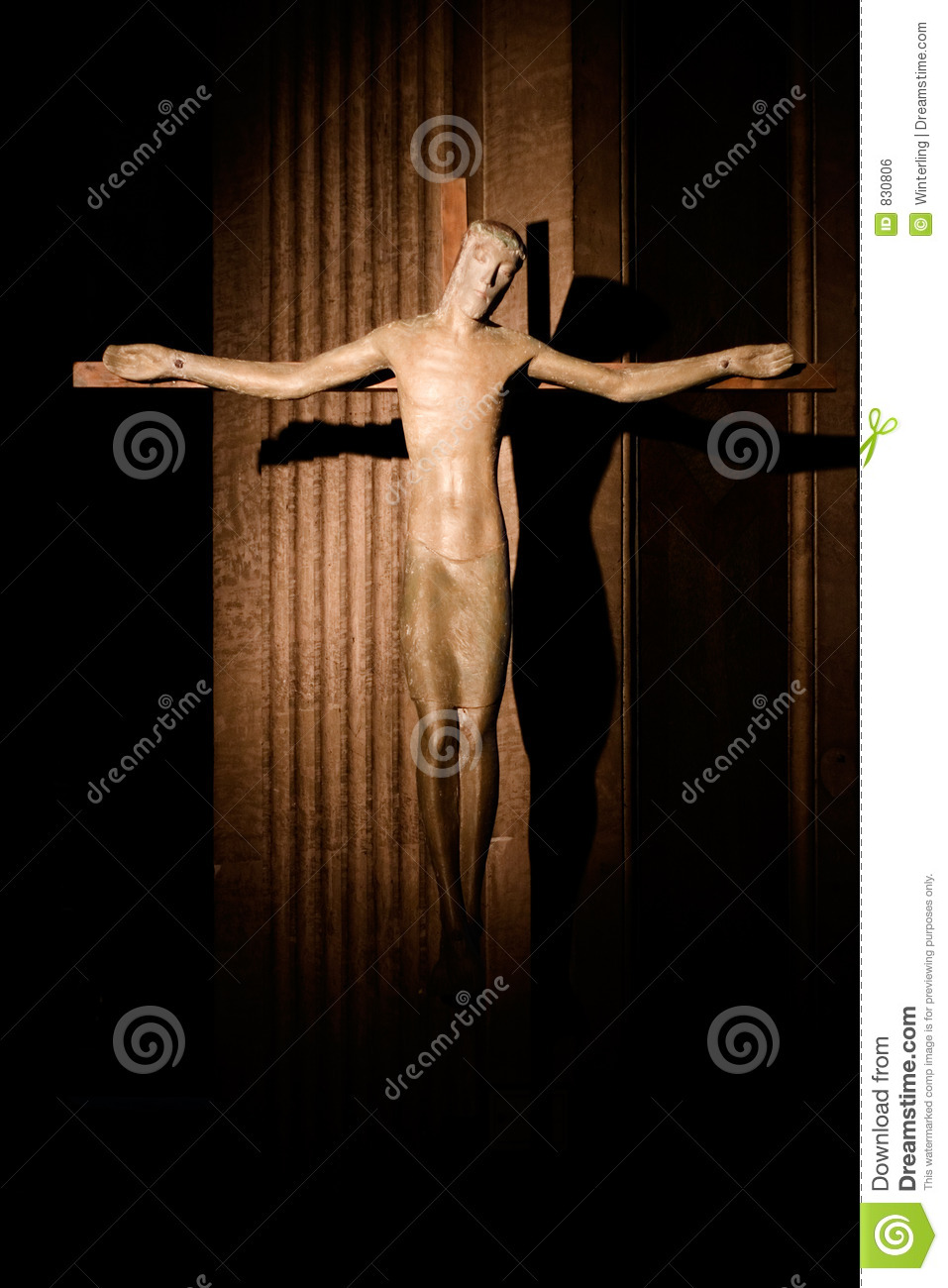 Crucified Christ in Saint Supice