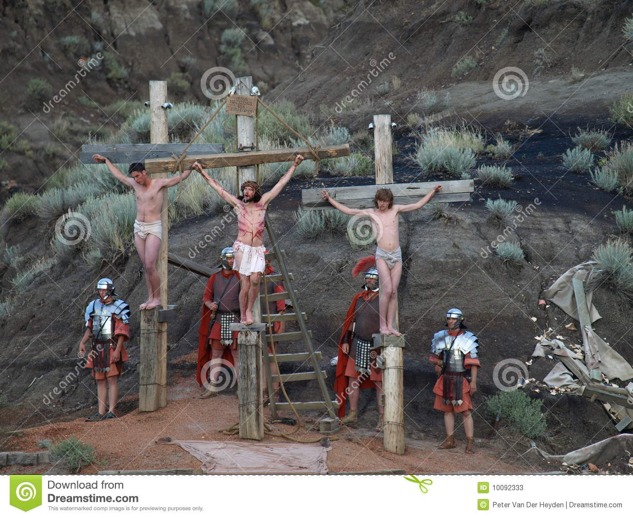 crucifixion editorial stock photo image 10092333