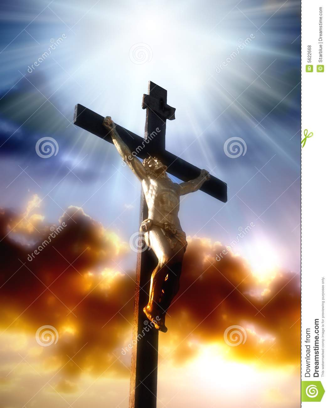 Crucifixion Of Christ Royalty Free Stock Photos - Image: 5622668
