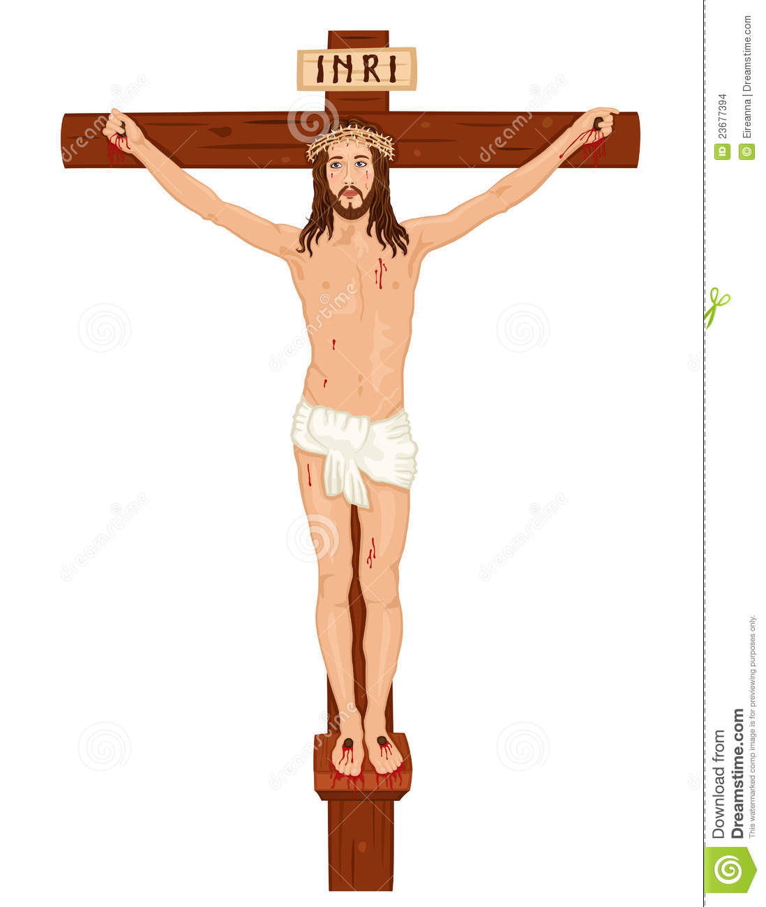 crucifixon jesus christ on the cross stock images image 23677394