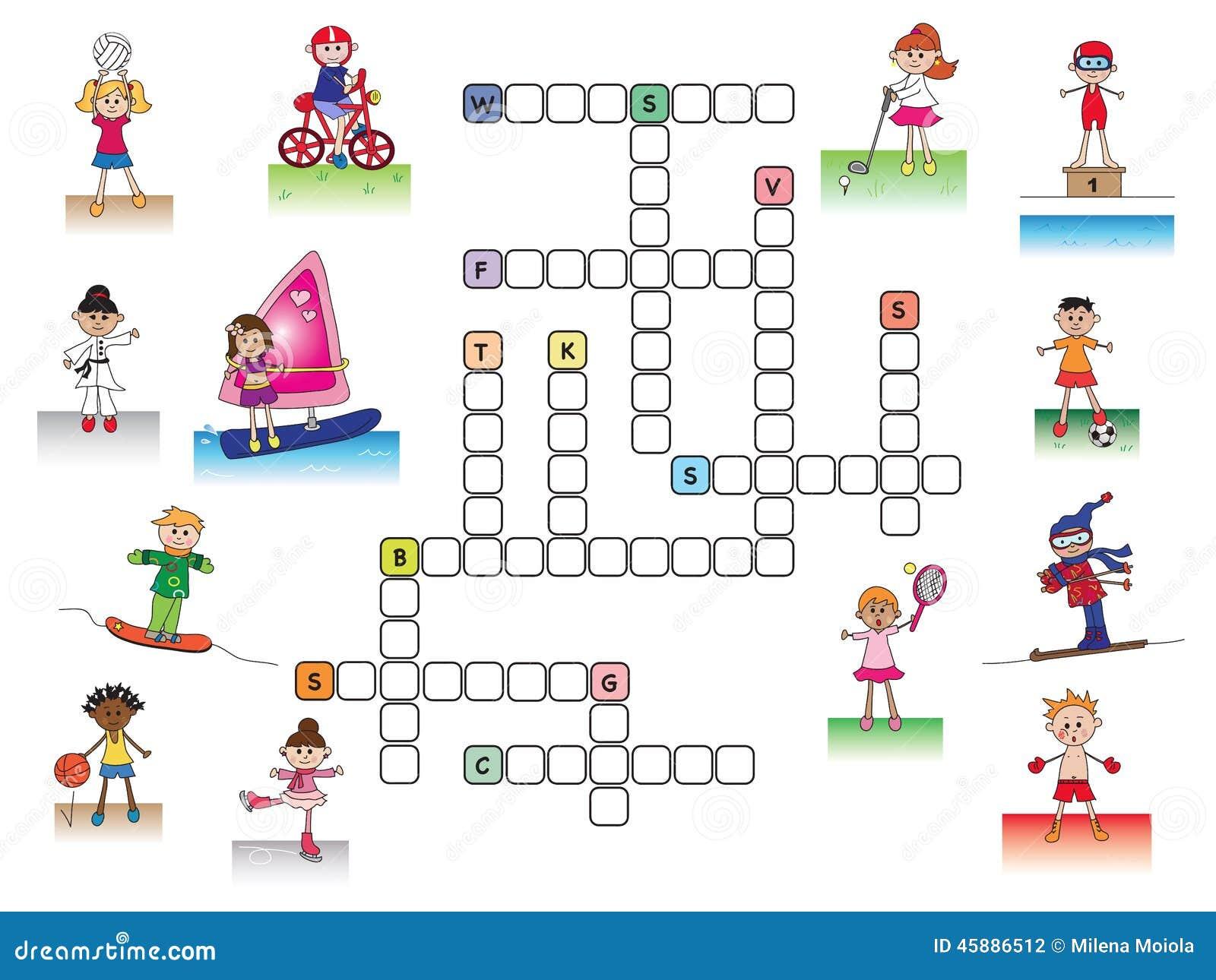 Free Garden Plan Software Crucigrama Stock De Ilustraci 243 N Imagen 45886512