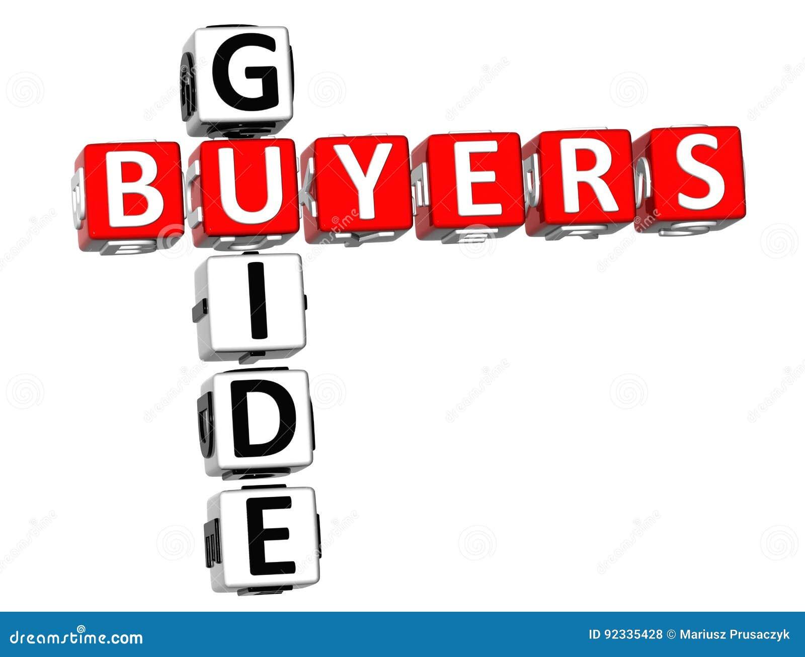 Crucigrama de la guía de los compradores