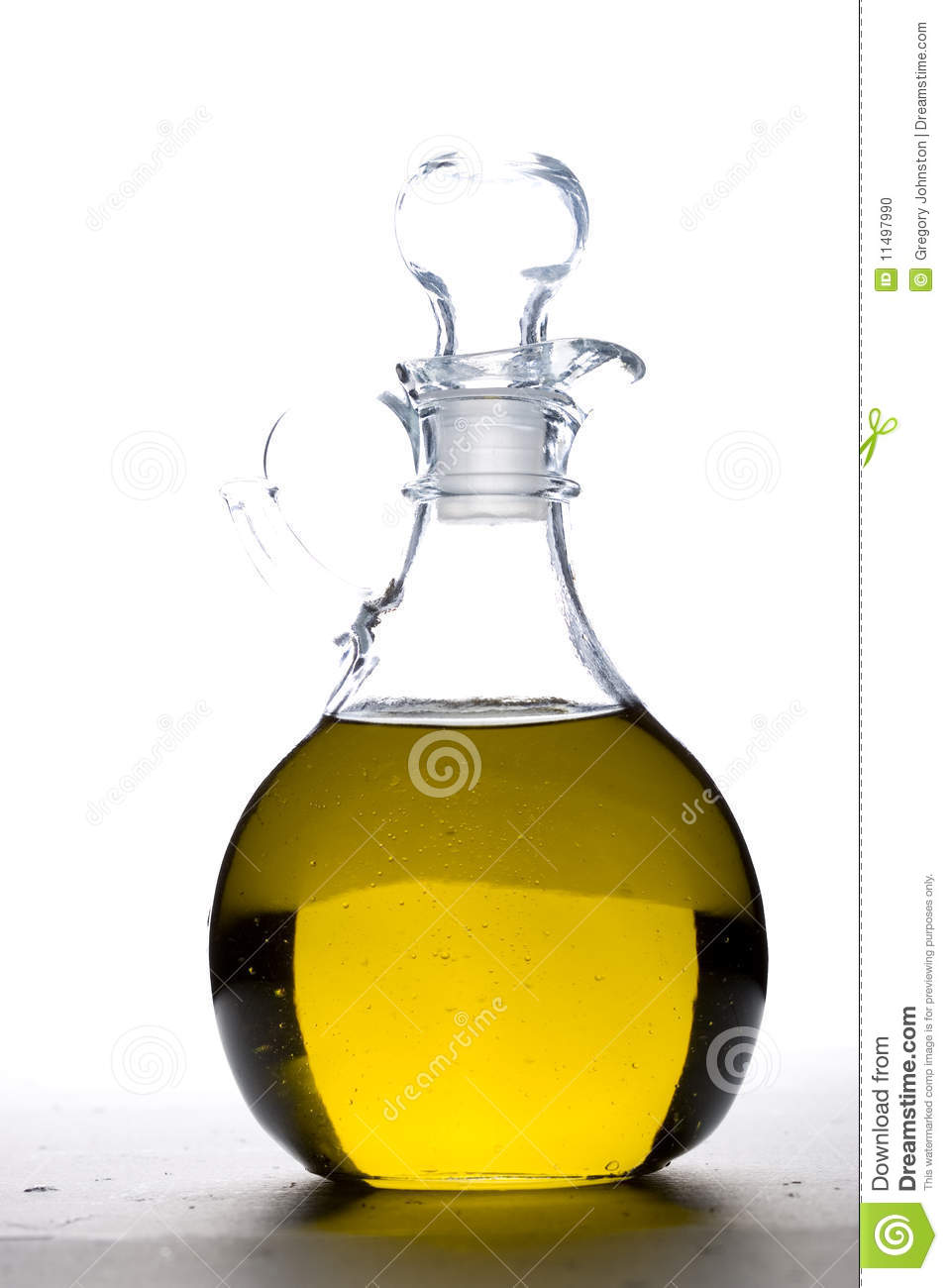 a cruet of olive oil stock photo  image  - cruet glass oil