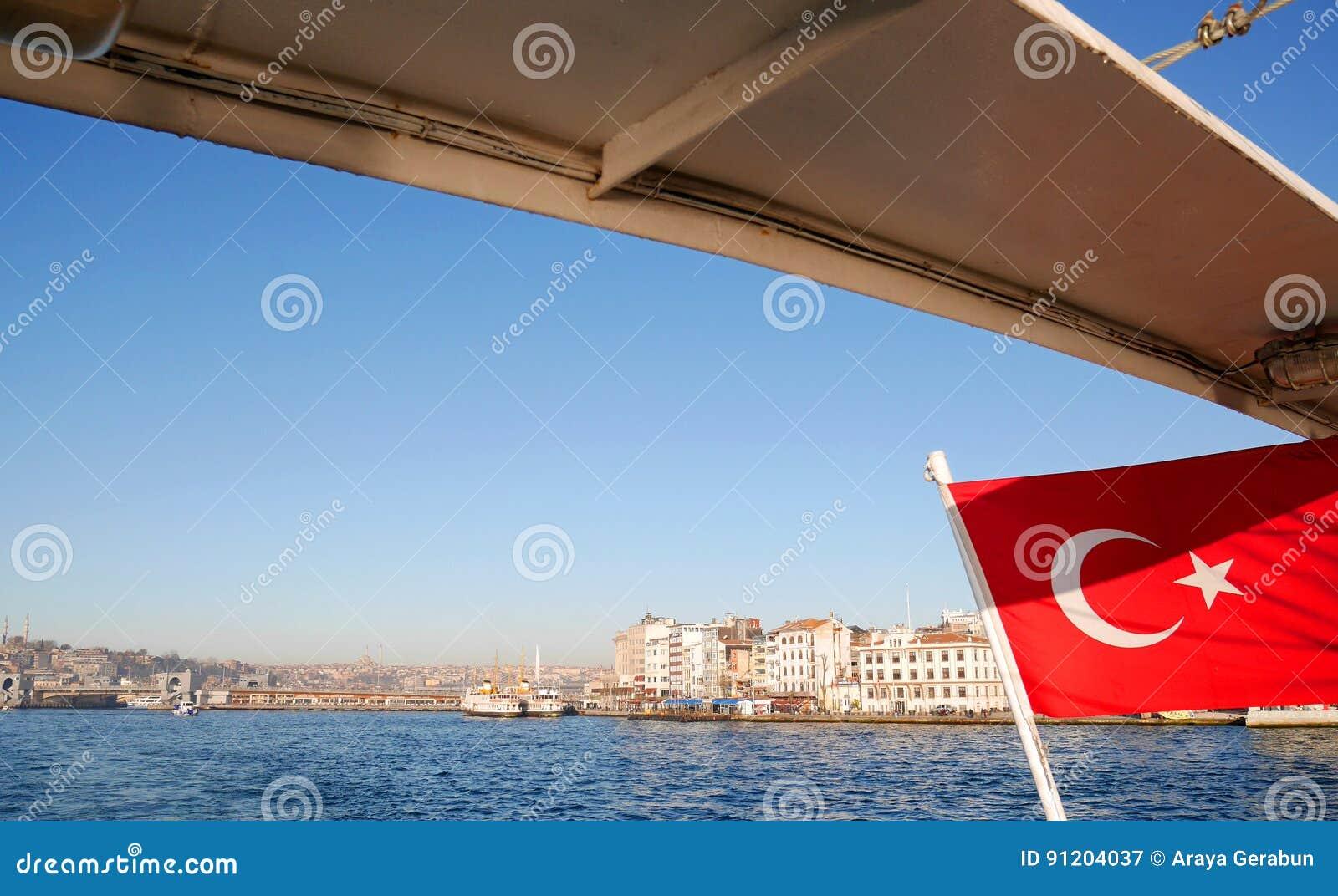 Cruise on Bosphorus strait, Istanbul