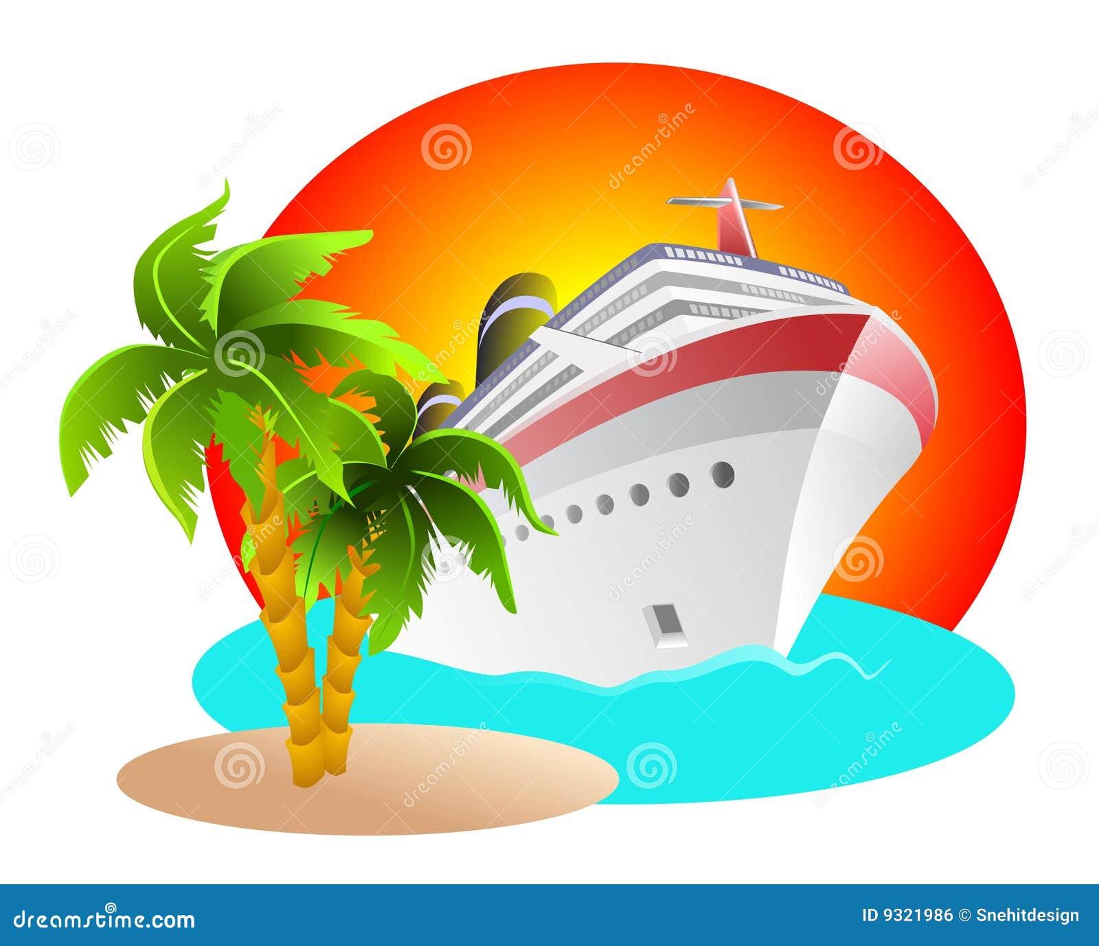 Cruise Clipart Royalty Free Stock Image - Image: 9321986