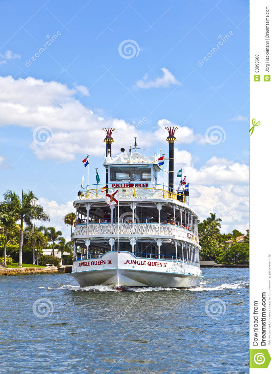 Cruise With Jungle Queen Riverboat Editorial Image