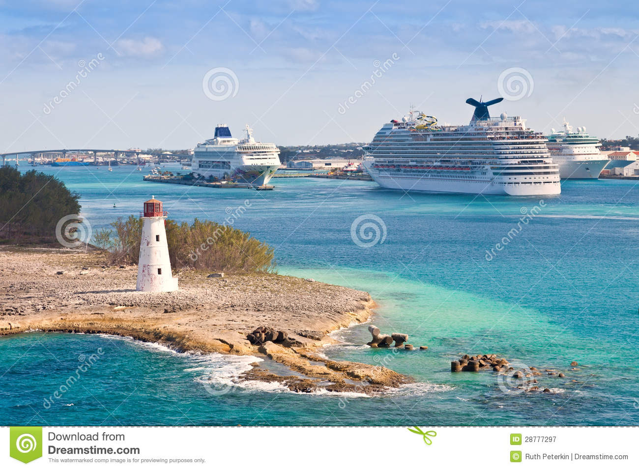 Cruise port in nassau bahamas stock image image 28777297 - Cruise port nassau bahamas ...