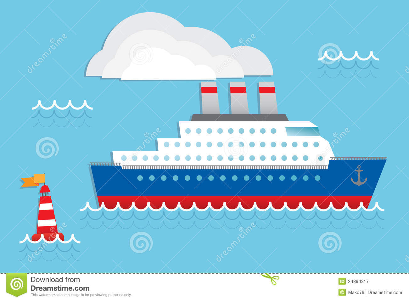 Cruise Ship Royalty Free Stock Photography Image 24894317