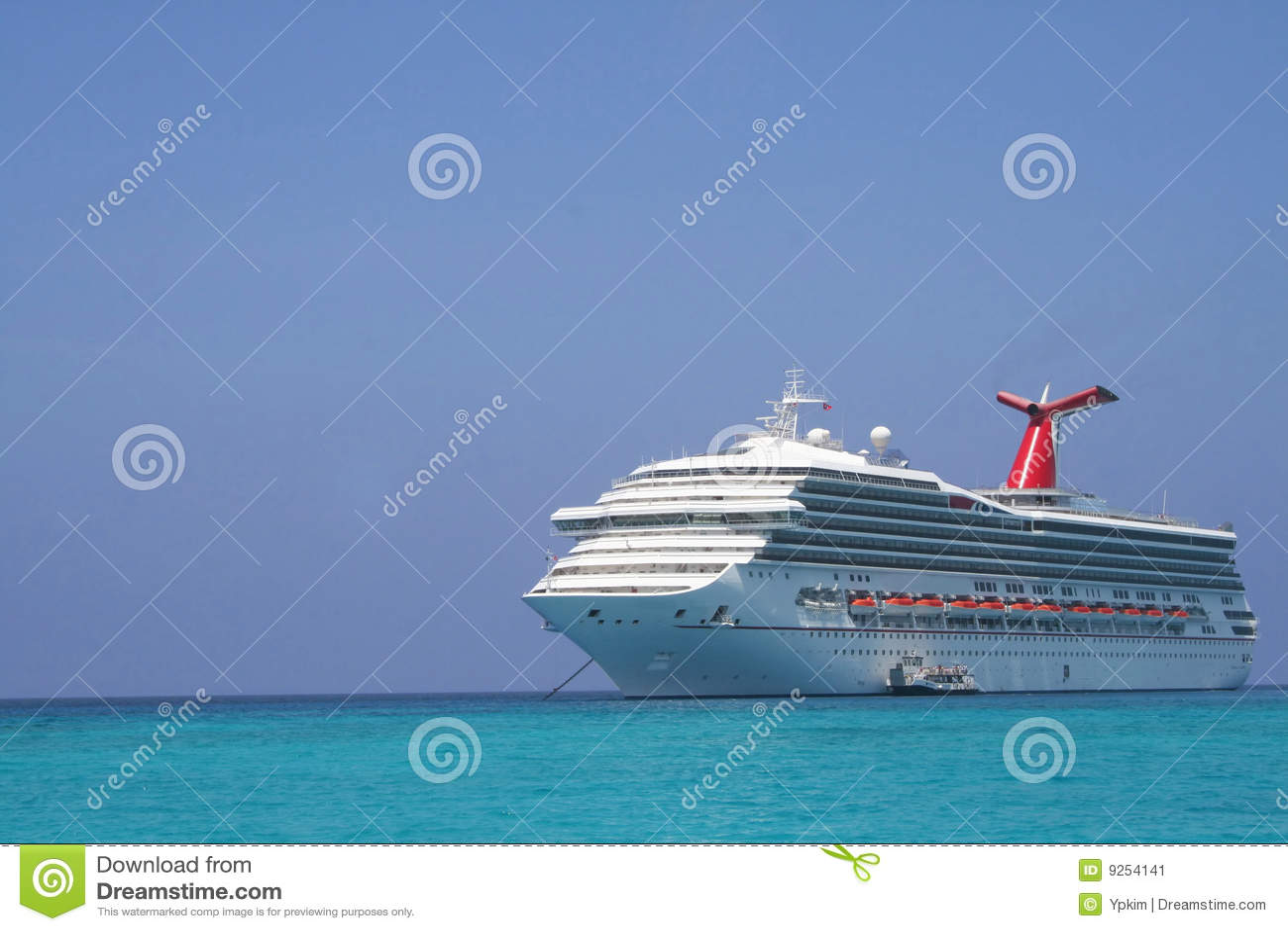 Download Cruise Ship stock image. Image of caribbean, boat, beautiful - 9254141