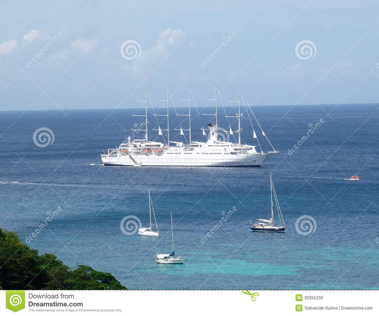 Image result for cruise ship in Bequia