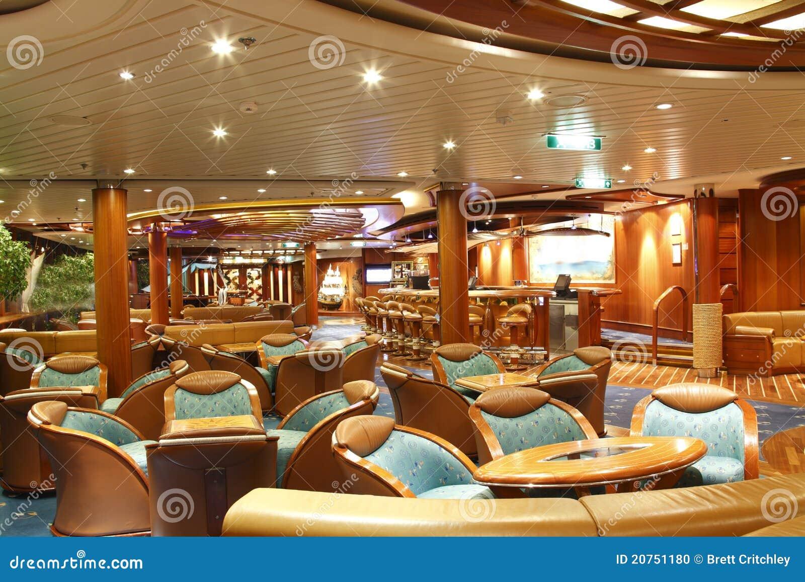 Cruise Ship Bar Stock Photo Image Of Luxury Seats Ship 20751180