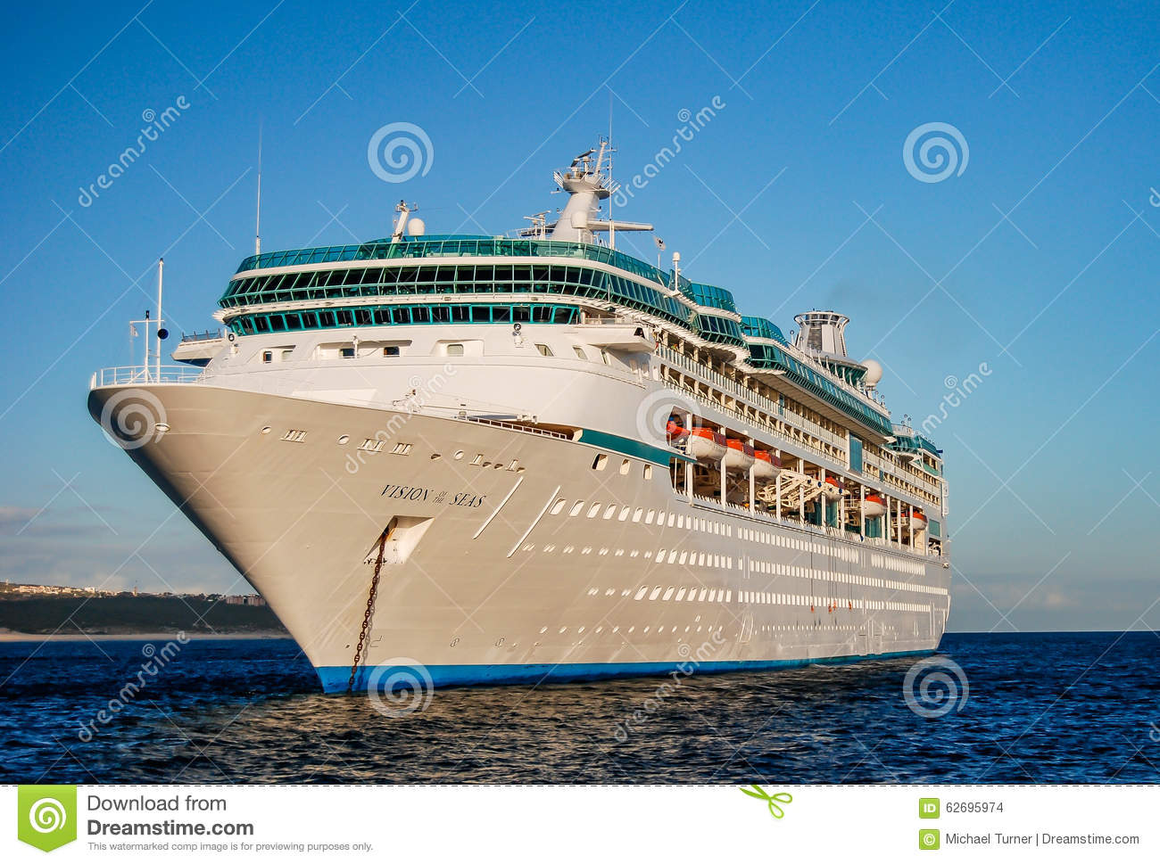 Cruise Ship in Cabo editorial stock image. Image of near ...