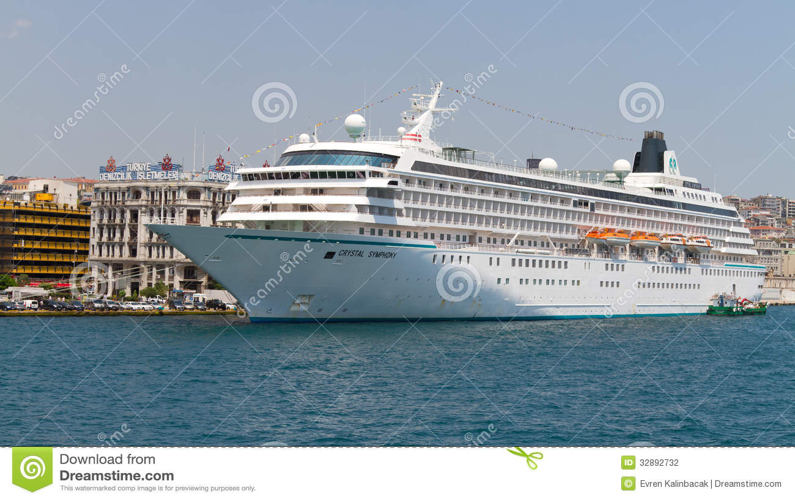 Cruise Ship Editorial Photography  Image 32892732