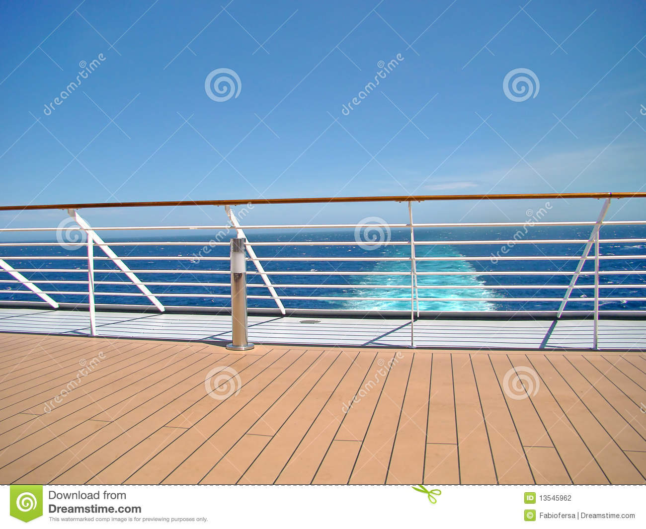 cruise ship deck stock photo image of recreation deck 13545962