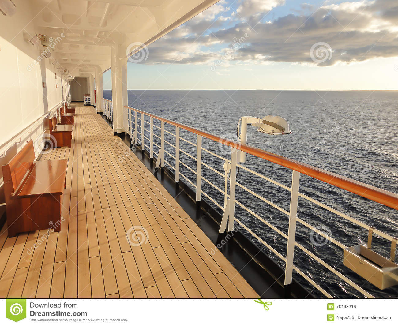 cruise ship deck stock photo image of journey vessel