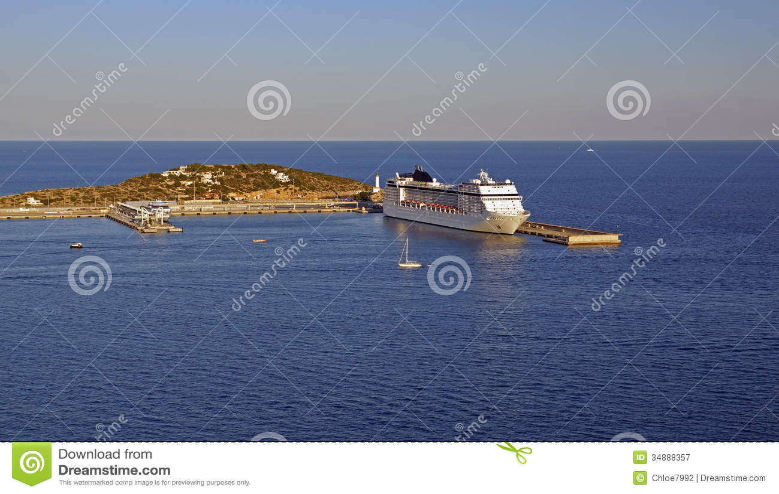 Cruise ship stock image. Image of style, port, tourism - 34888357
