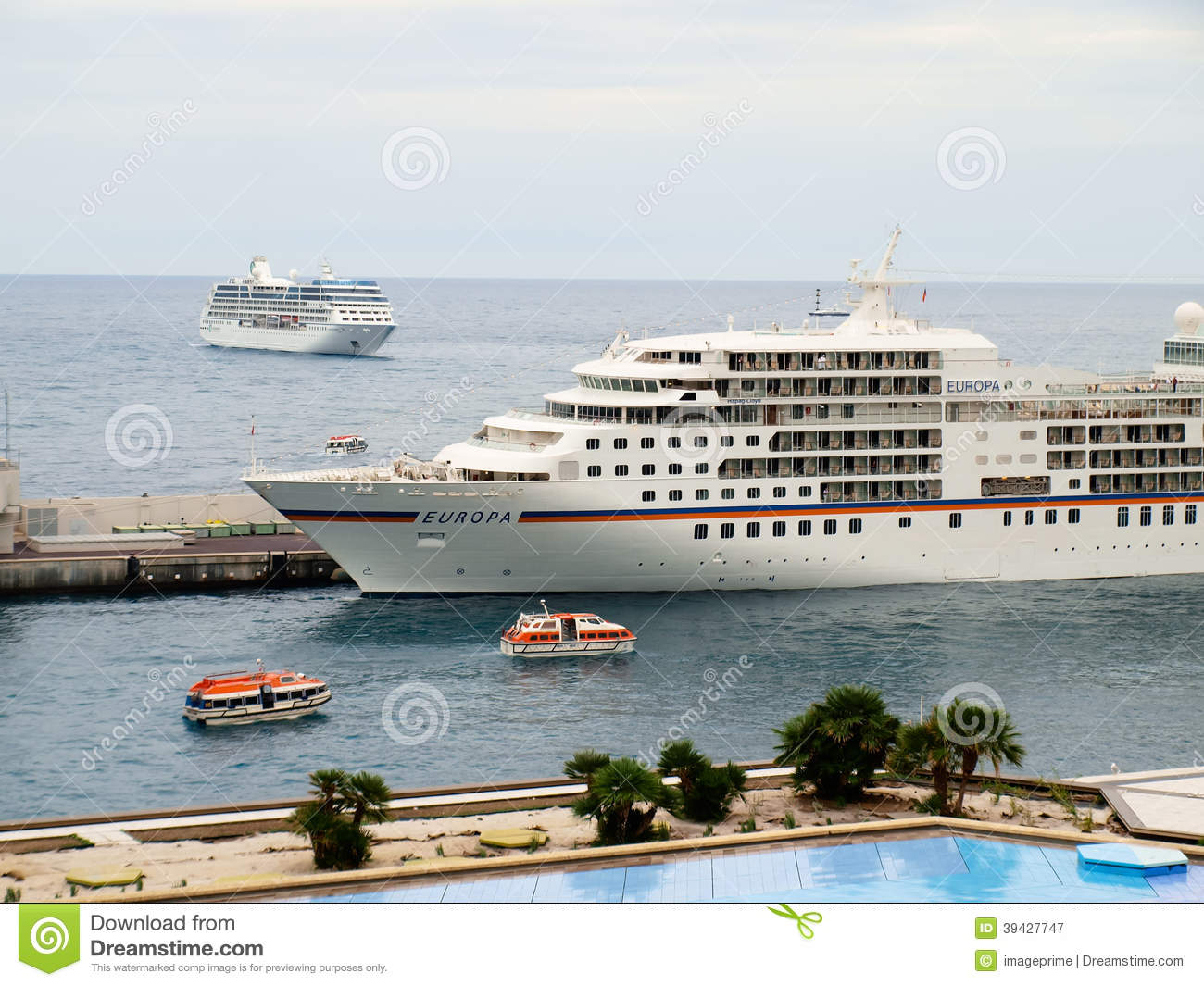Cruise Ship In Europe Editorial Photography  Image 39427747