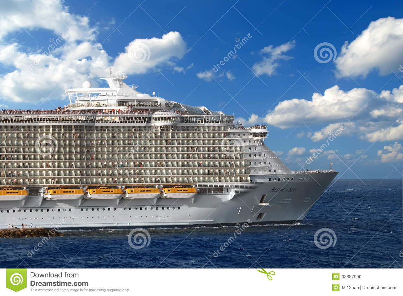 Cruise Ship Editorial Image  Image 33887990
