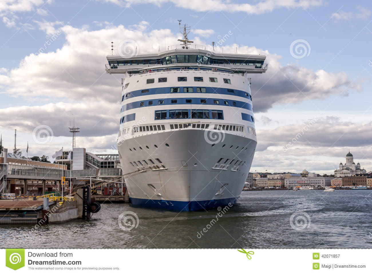 Download Cruise Ship stock image. Image of transportation, white - 42071857