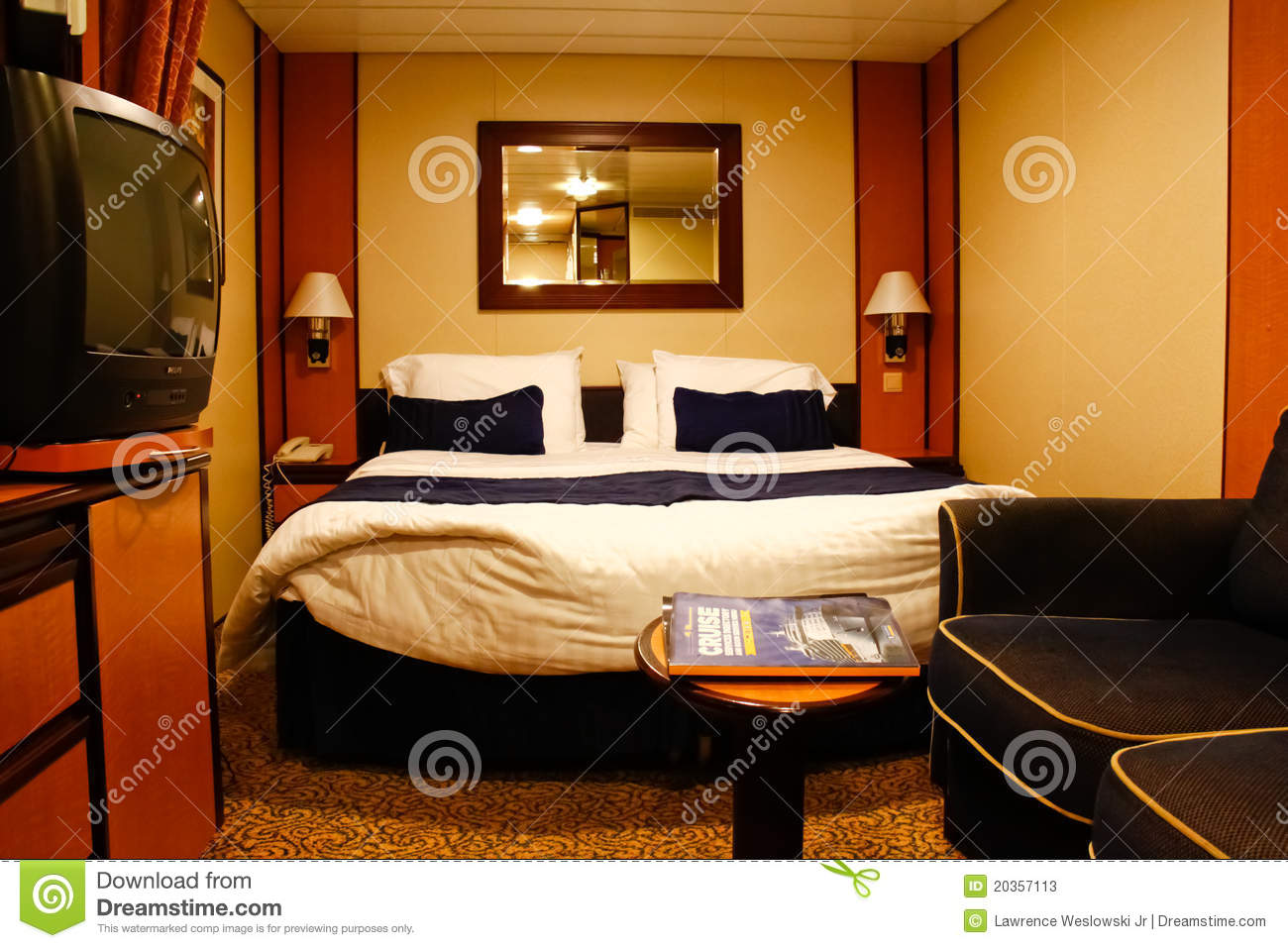 Cruise Ship Inside Cabin Stateroom Editorial Stock Photo - Image: 20357113