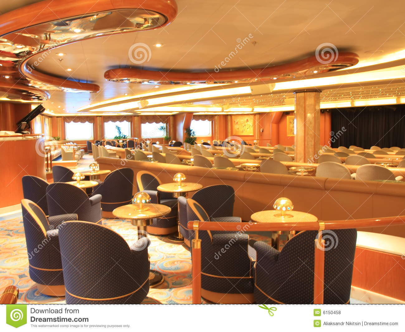 Royalty Free Stock Photos Cruise Ship Interior Image6150458 on fun restaurant interiors