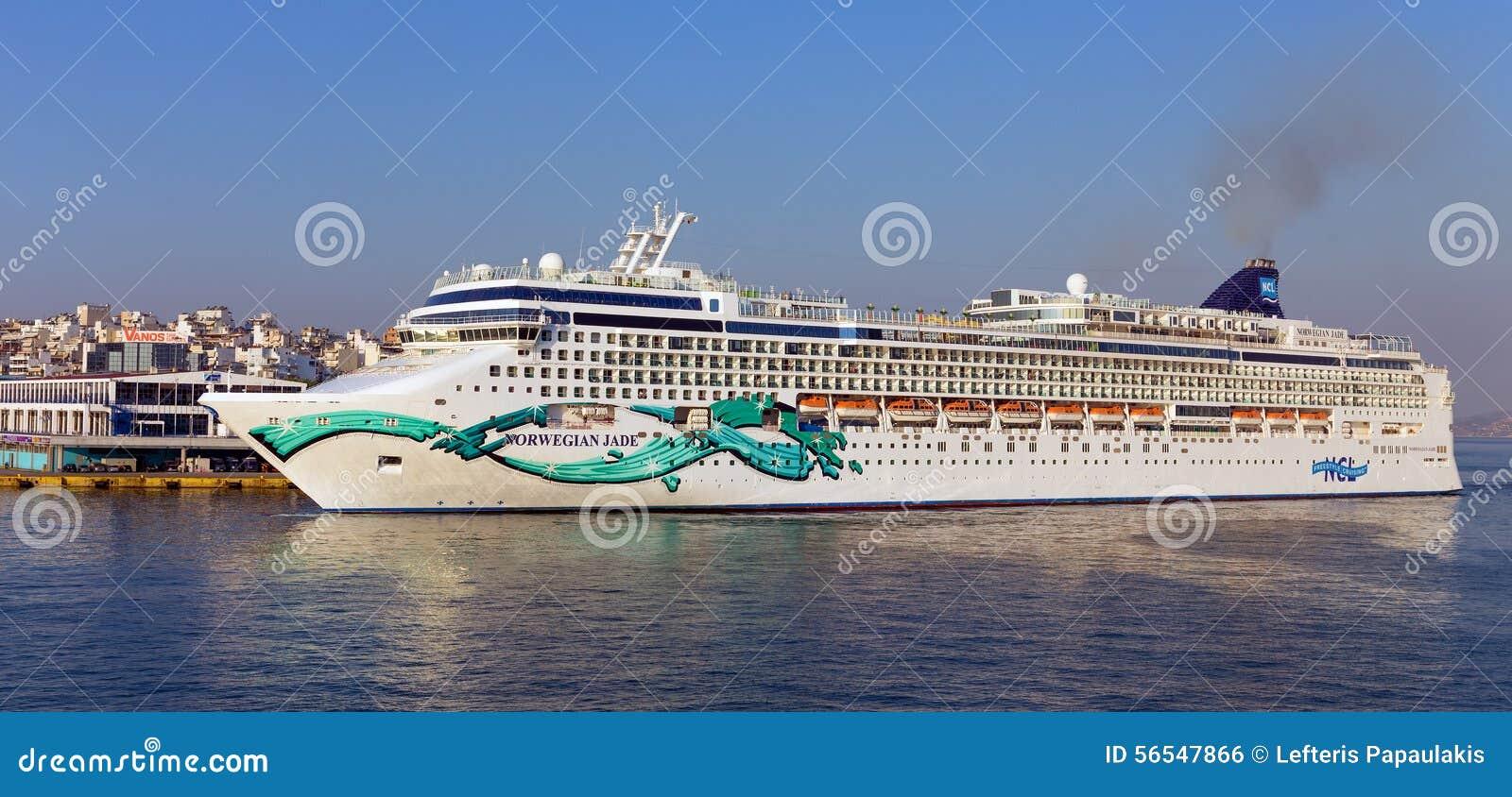 Cruise ship Norwegian Jade