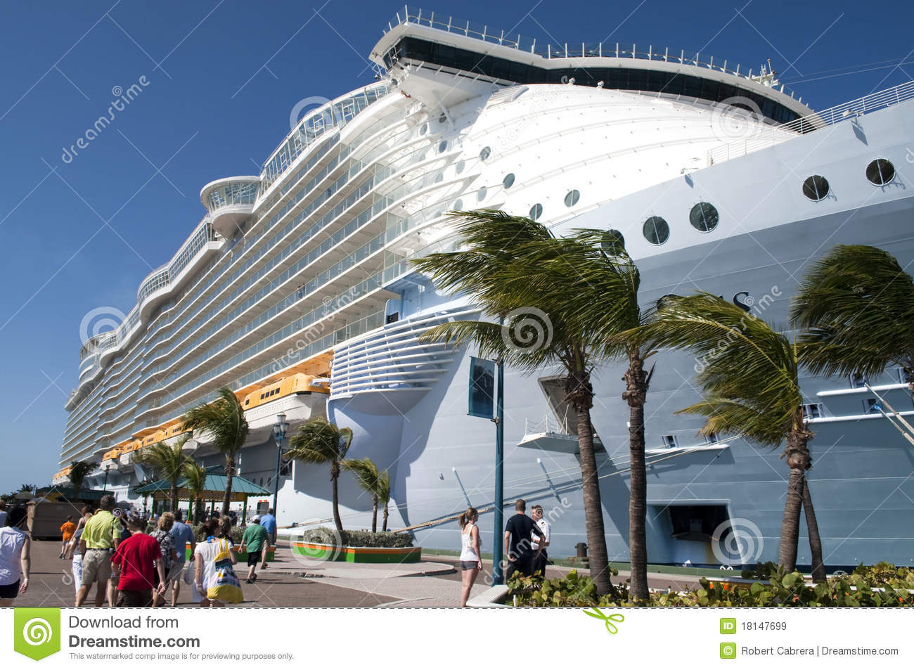 Cruise Ship Passengers Boarding Editorial Stock Image